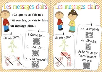 message clair